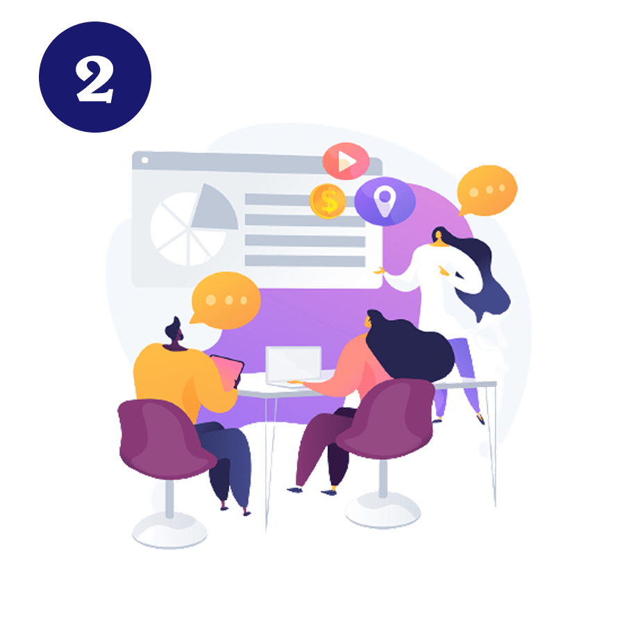 Quy trình làm việc Nhanhomedia - công ty marketing Đà Nẵng