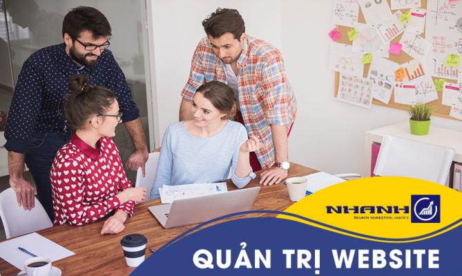 Dịch vụ quản trị website tại Đà Nẵng - Nhanhomedia
