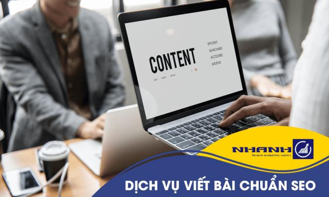 Dịch vụ viết bài website chuẩn SEO tại Đà Nẵng - Nhanhomedia