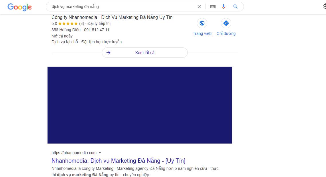 Kết quả khi sử dụng dịch vụ SEO Đà Nẵng của Nhanhomedia